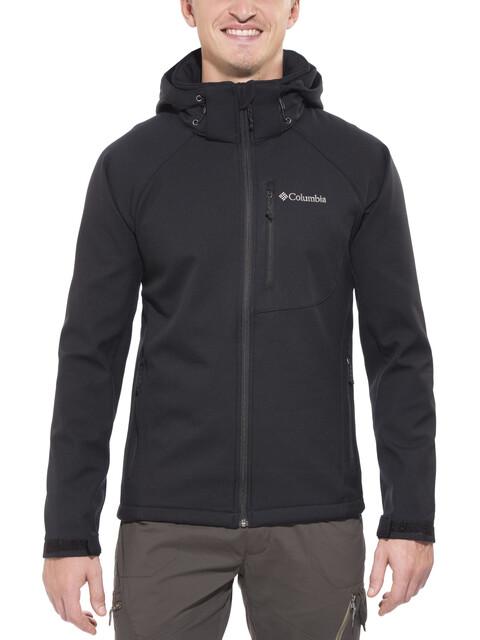 Columbia Cascade Ridge II Jas Heren Softshell zwart